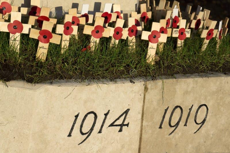 Día de la conmemoración imágenes de archivo libres de regalías