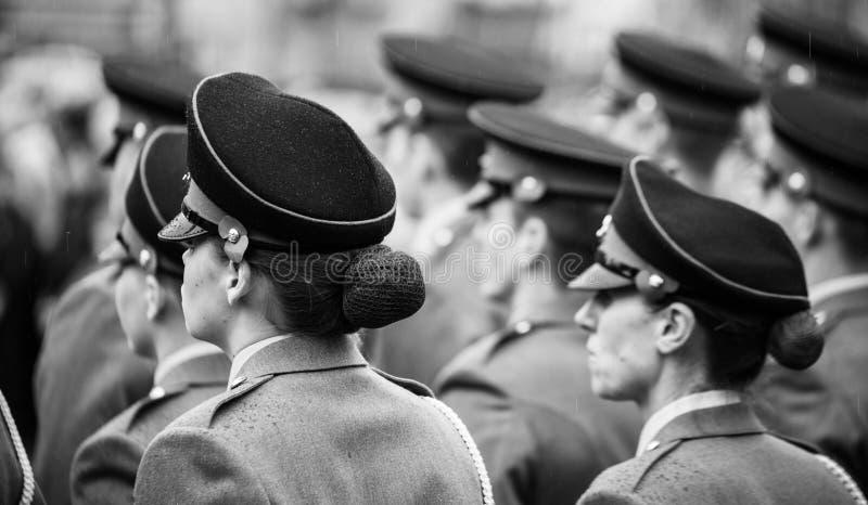 Día de la conmemoración skipton Reino Unido 11 11 2018 fotografía de archivo libre de regalías
