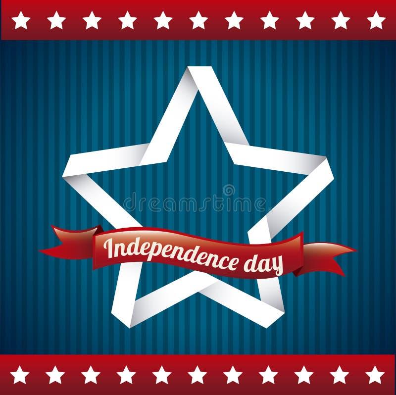 Día de la Independencia ilustración del vector