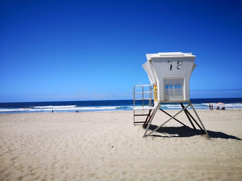 Día de la playa San Diego imagenes de archivo
