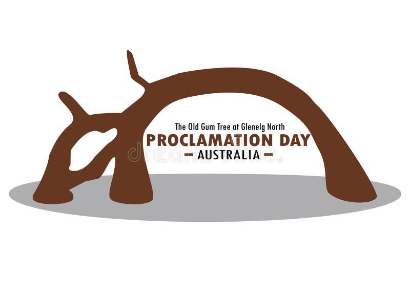 Día de la proclamación de sur de Australia imágenes de archivo libres de regalías