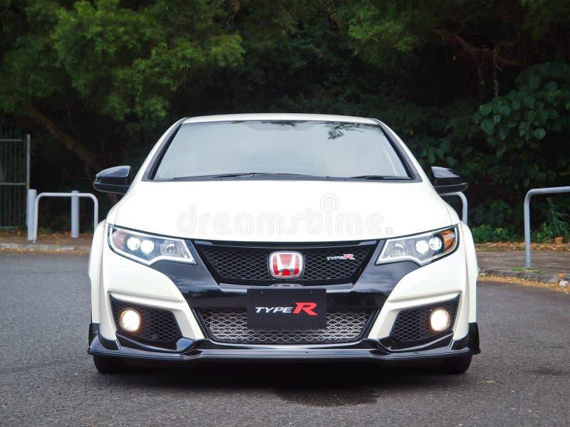 Día de la prueba de conducción de Honda Civic 2015 imágenes de archivo libres de regalías