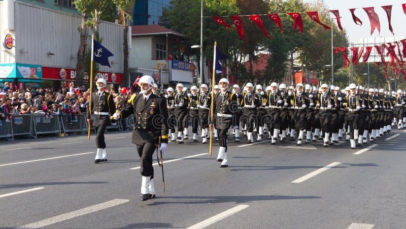 Día de la república de celebraciones de Turquía imagen de archivo libre de regalías