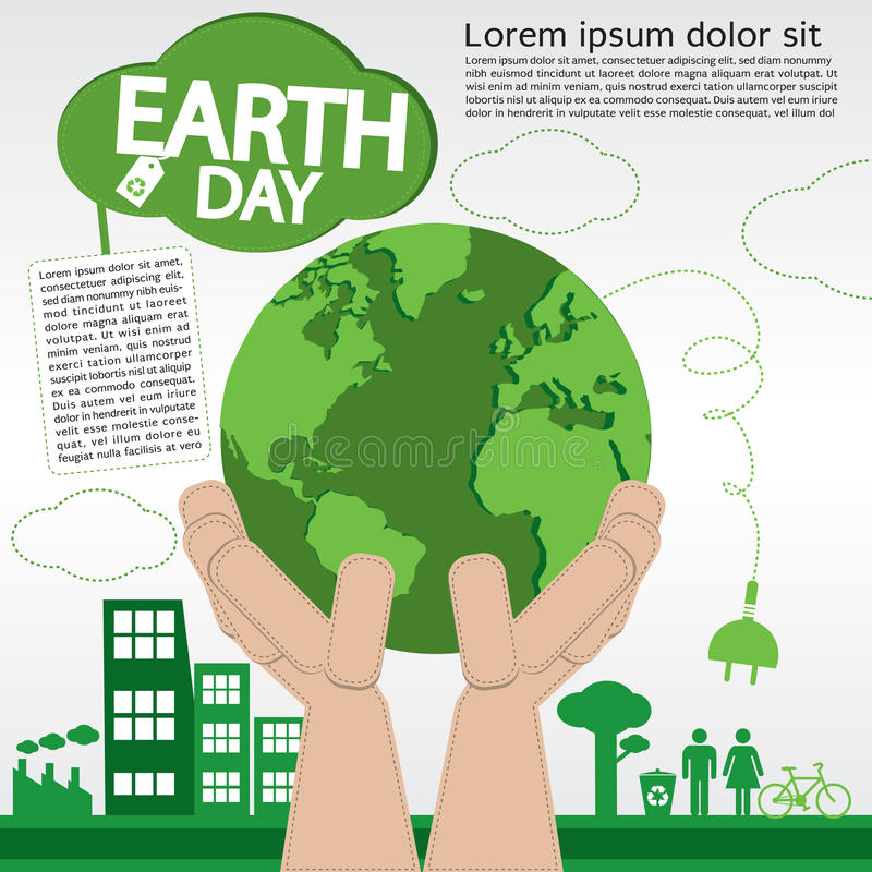 Día de la Tierra. libre illustration