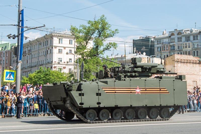 Día de la victoria en Rusia imagen de archivo libre de regalías
