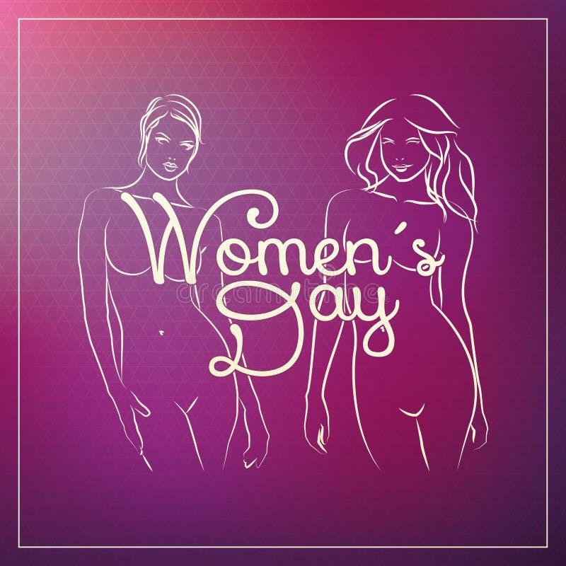 Día de las mujeres libre illustration