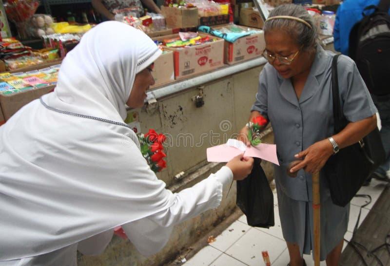 Día de las mujeres de Indonesia fotografía de archivo libre de regalías