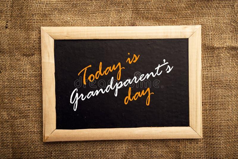Día de los abuelos foto de archivo