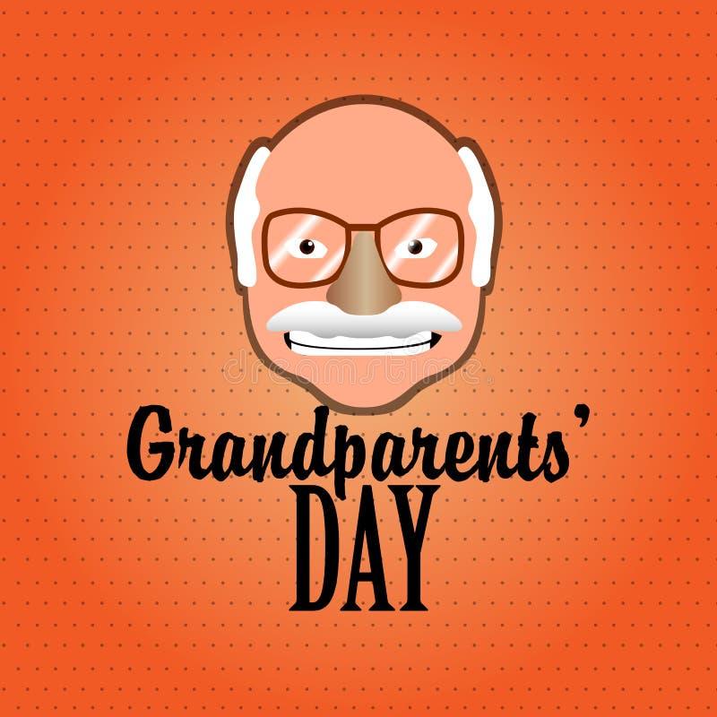 Día de los abuelos libre illustration