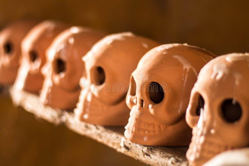 Día de los cráneos de la muerte imagen de archivo