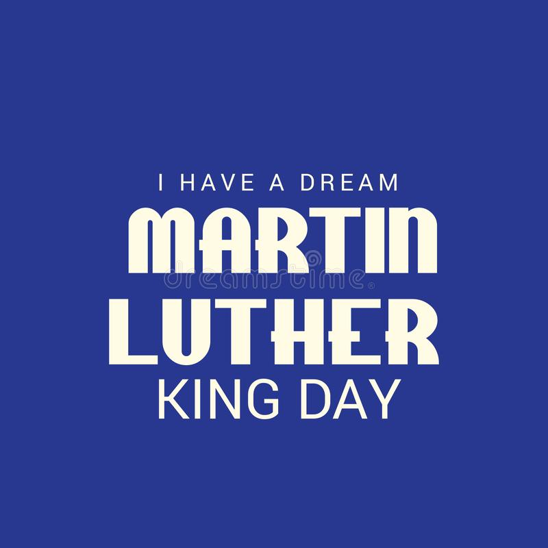 Día de Martin Luther King libre illustration