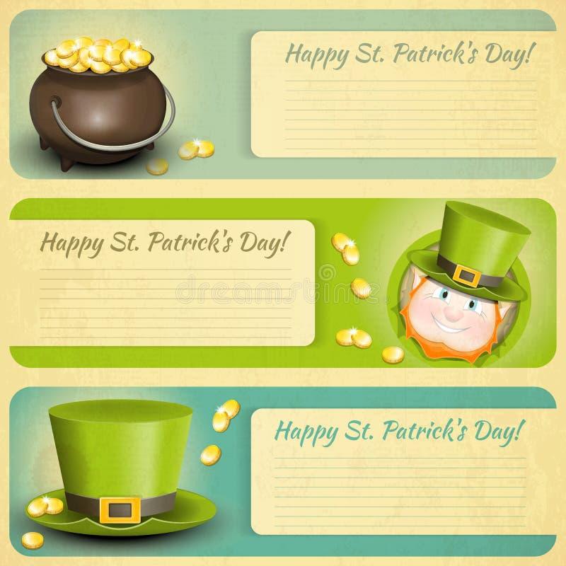 Día de Patricks stock de ilustración