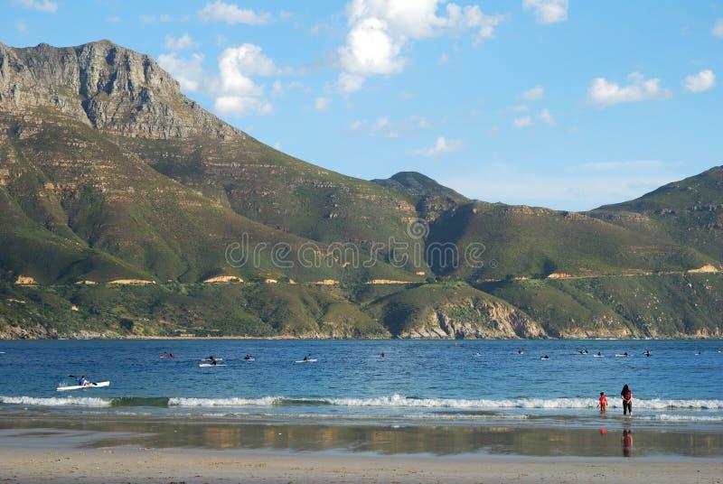 Día de resorte asoleado en la playa. foto de archivo libre de regalías
