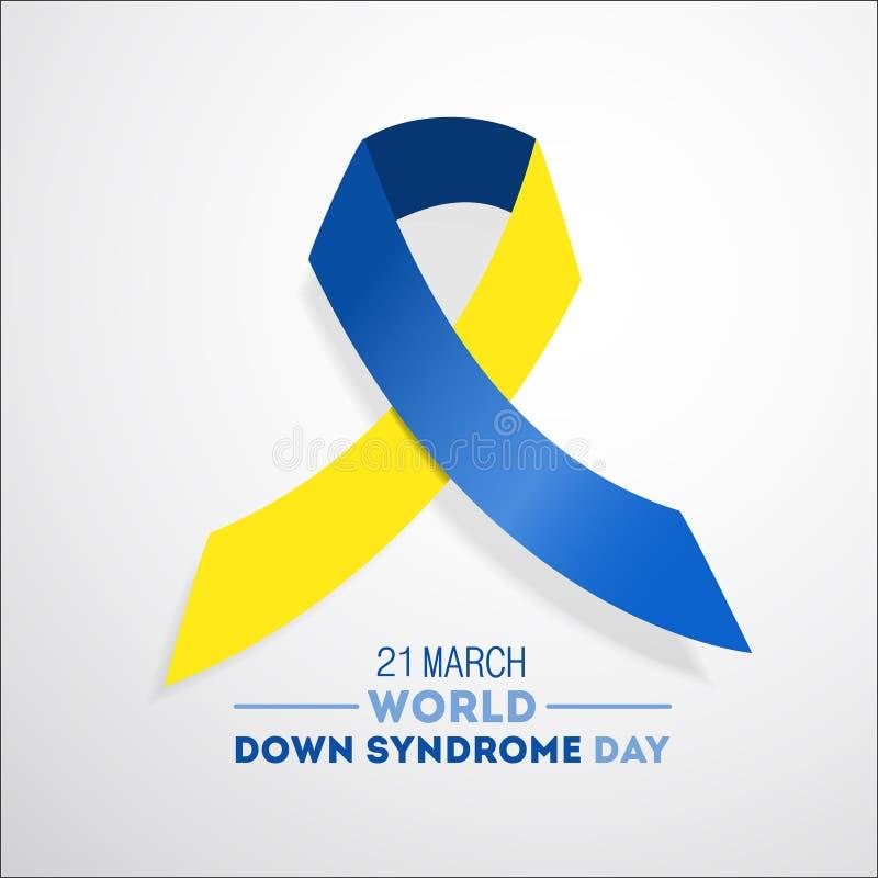 Día de Síndrome de Down ilustración del vector