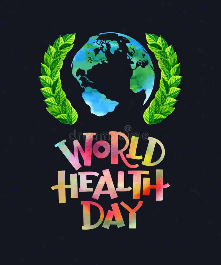 Día de salud de mundo libre illustration