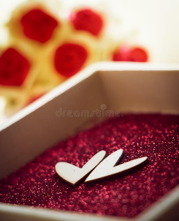 Día de San Valentín y concepto del amor fotografía de archivo