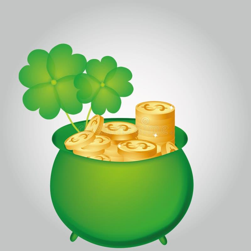 Día de St Patrick libre illustration