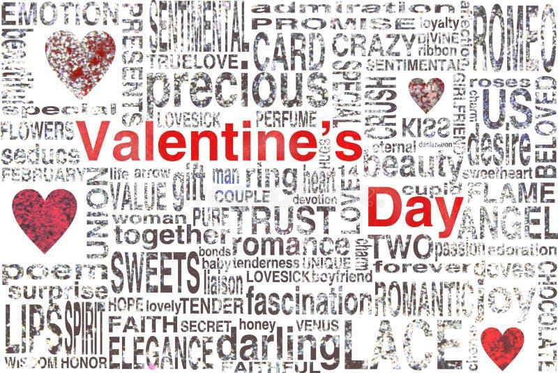 Día de tarjetas del día de San Valentín imagen de archivo