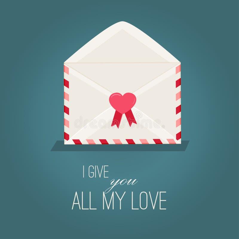Download Día De Tarjetas Del Día De San Valentín De Tarjeta De Felicitación Con Los Corazones Rojos Ilustración del Vector - Ilustración de saludo, invitación: 64212130