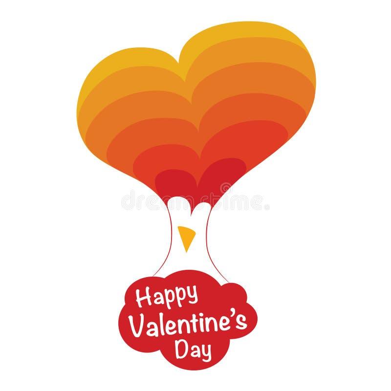 Día de tarjetas del día de San Valentín feliz imagenes de archivo
