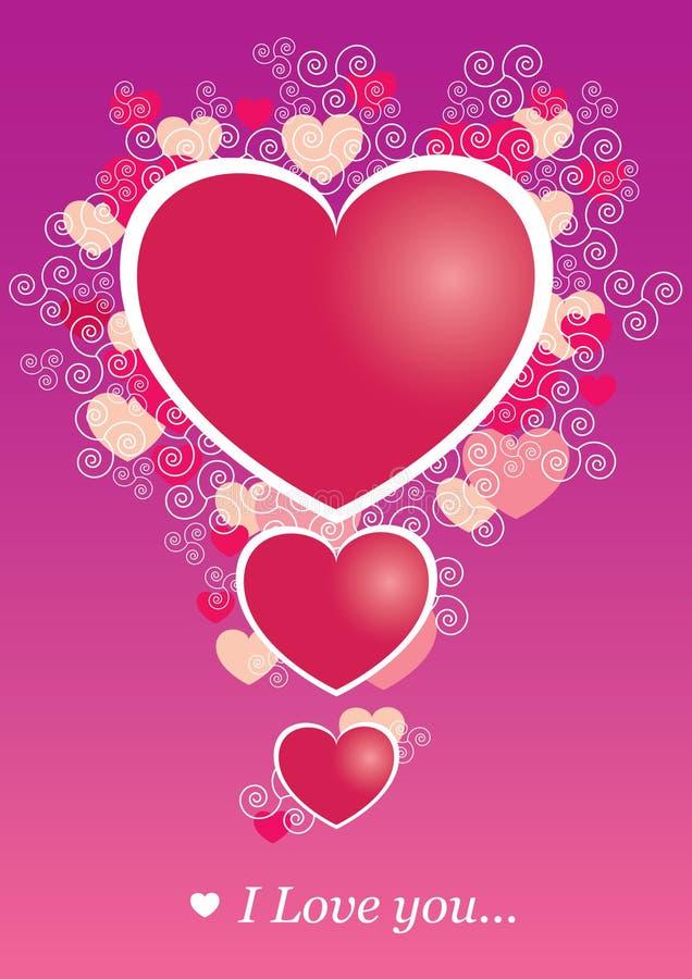 Día de Valentineâs ilustración del vector