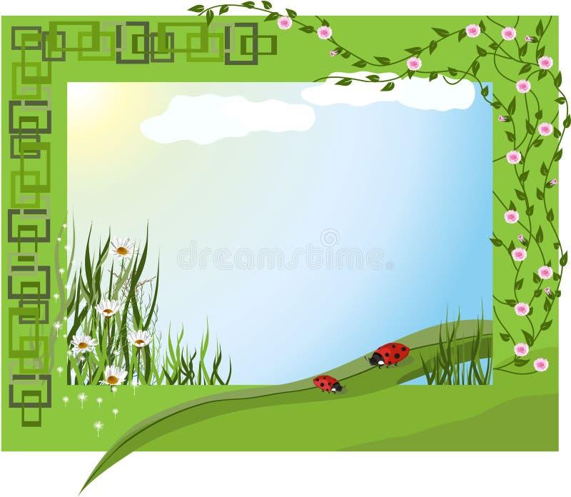 Día de verano ilustración del vector