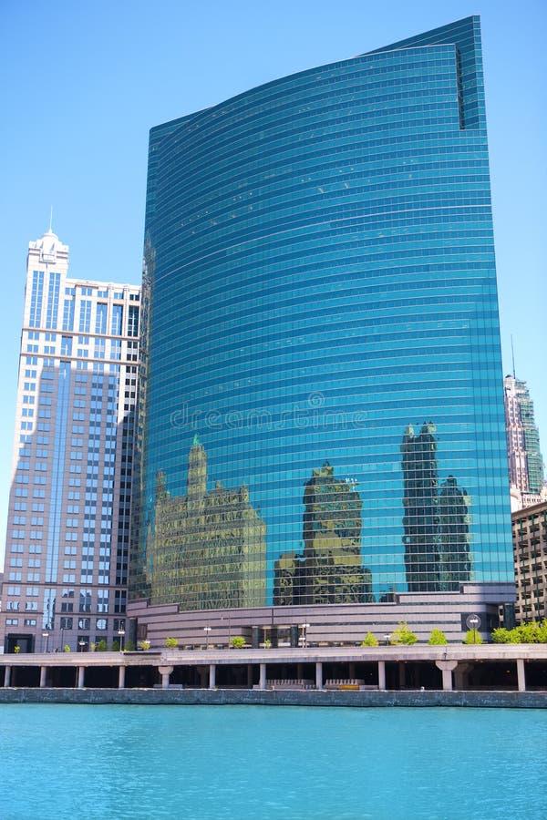 Día de verano en Chicago imagen de archivo