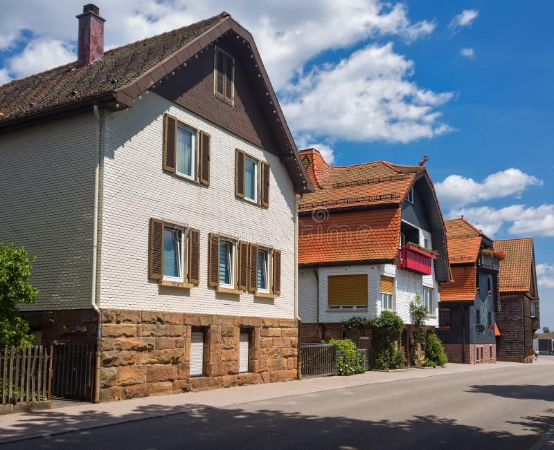Día de verano en la ciudad alemana de Freudenstadt fotos de archivo libres de regalías