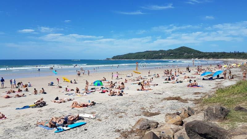 Día de verano en la playa fotos de archivo