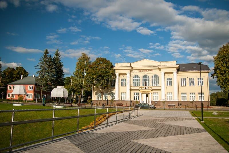 Día de verano hermoso de Zarasas del lago lituania foto de archivo libre de regalías