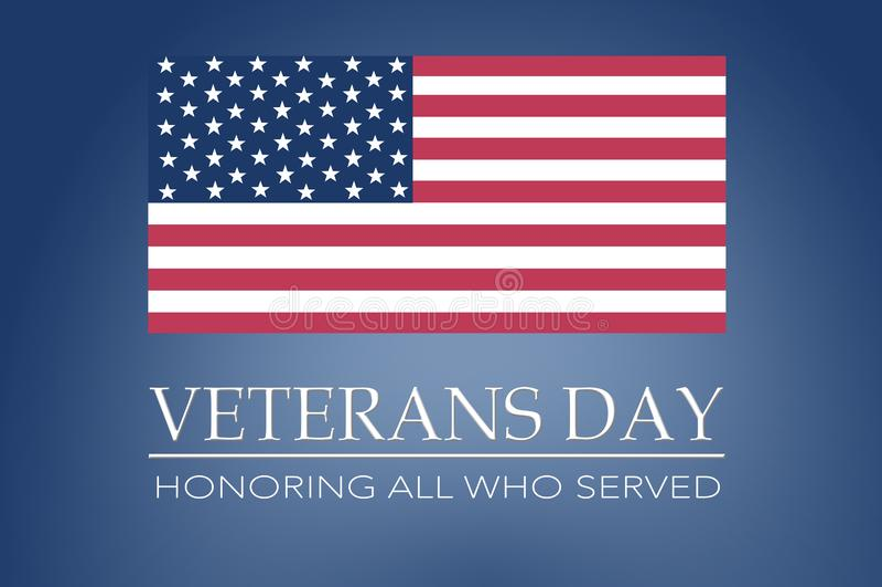Día de veteranos imágenes de archivo libres de regalías