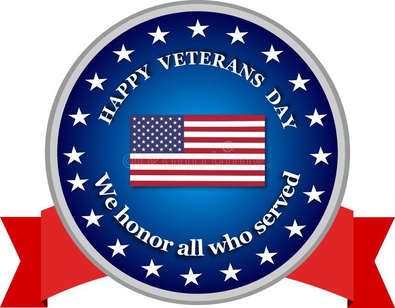 Día de veteranos ilustración del vector