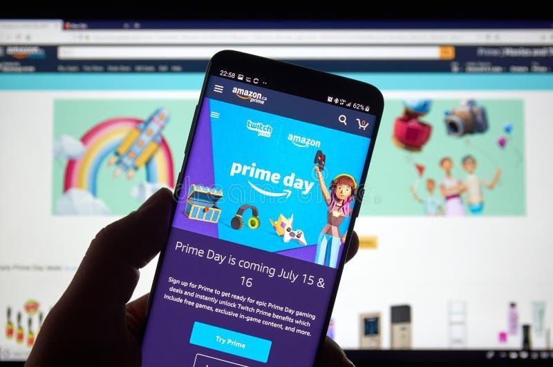 Día del Amazon Prime fotografía de archivo libre de regalías