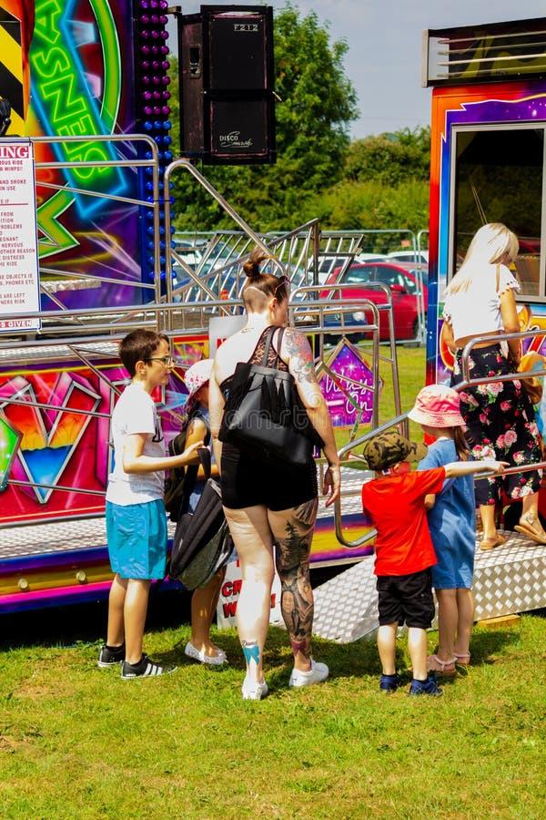 Día del carnaval de Harthill fotos de archivo libres de regalías