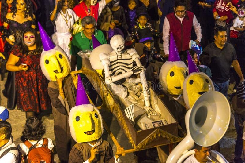 Día del desfile muerto imágenes de archivo libres de regalías