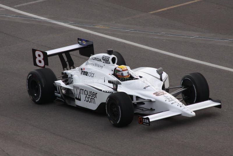 Día del Ho-Pin Tung 8 Indianapolis 500 poste Indy 2011 imágenes de archivo libres de regalías