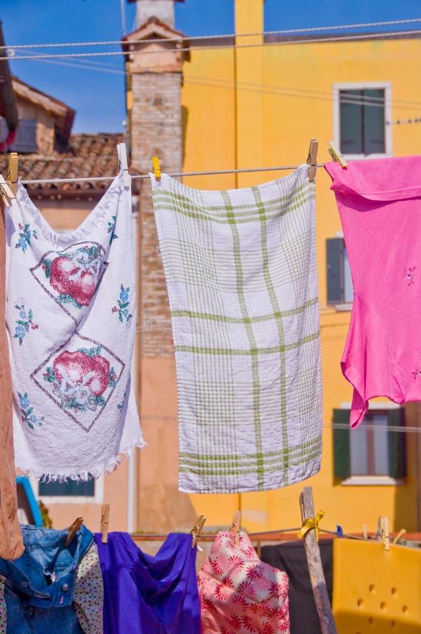 Día del lavadero foto de archivo libre de regalías