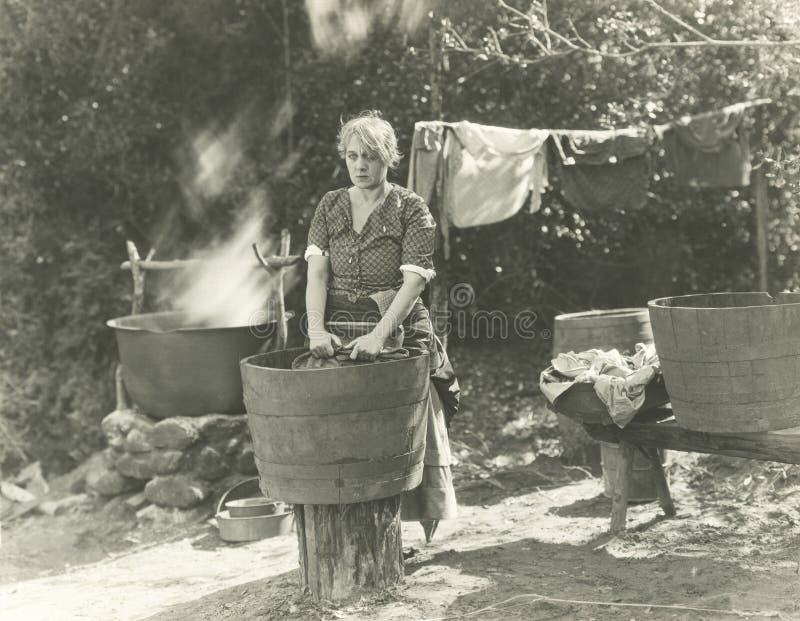 Día del lavado fotos de archivo