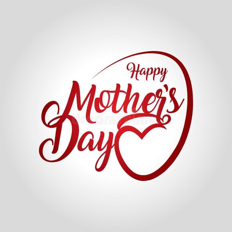 Día del `s de la madre stock de ilustración