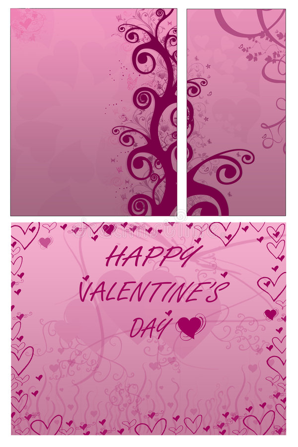 Download Día Del `s De La Tarjeta Del Día De San Valentín Stock de ilustración - Ilustración de pasión, pintado: 7280579