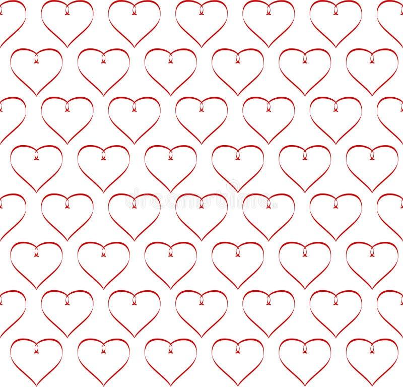 Día del ` s de la tarjeta del día de San Valentín de los corazones fotos de archivo