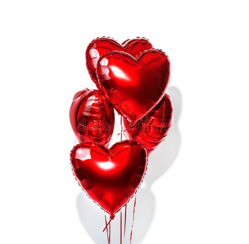 Día Del `s De La Tarjeta Del Día De San Valentín Balones De Aire ...