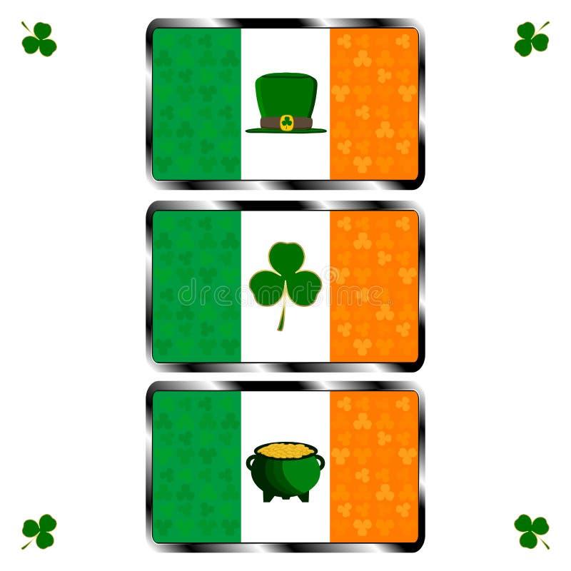 Día del ` s de St Patrick del día de fiesta de la celebración stock de ilustración