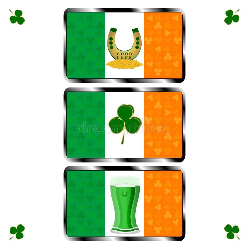 Día del ` s de St Patrick del día de fiesta de la celebración ilustración del vector