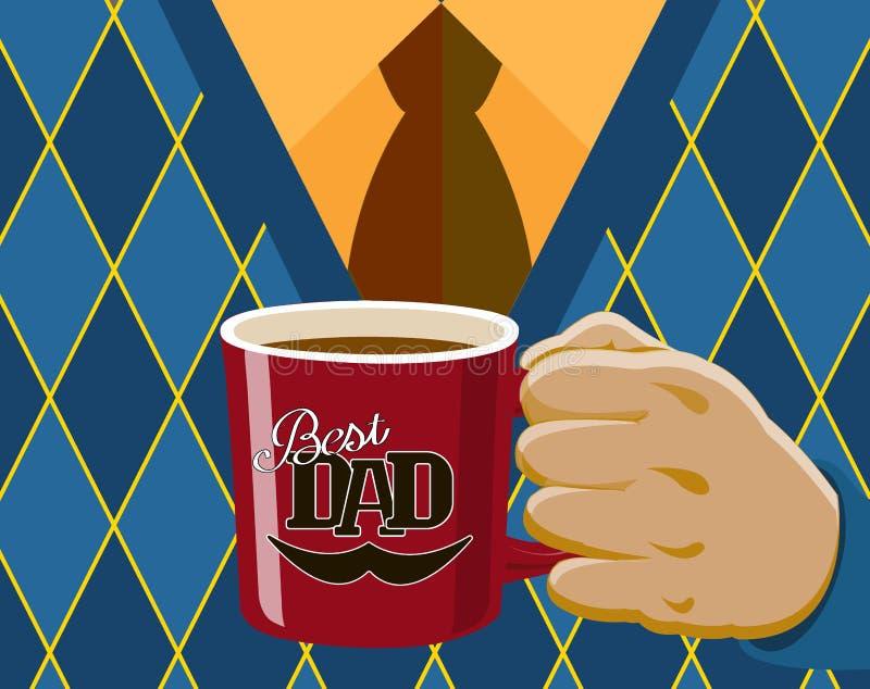 Día del `s del padre libre illustration
