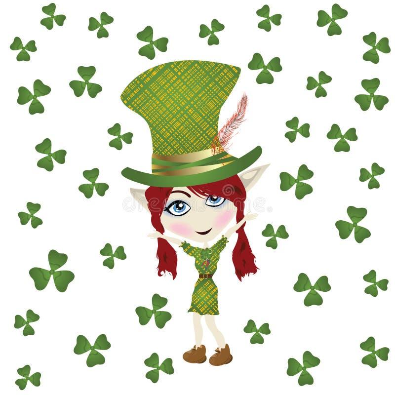 Día del St Patrick stock de ilustración