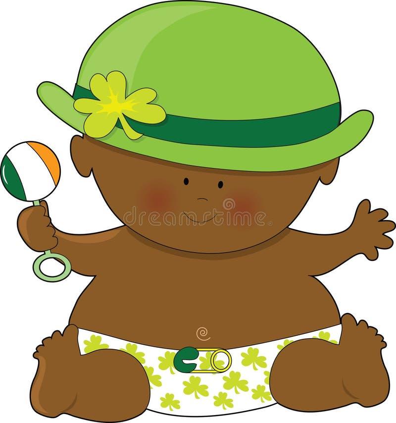 Día del St. Patricks del bebé libre illustration