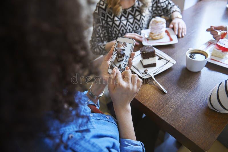 Día en el café imagen de archivo libre de regalías