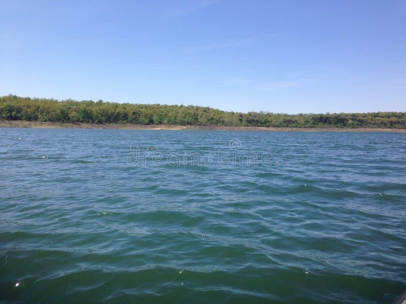Día en el lago fotos de archivo libres de regalías