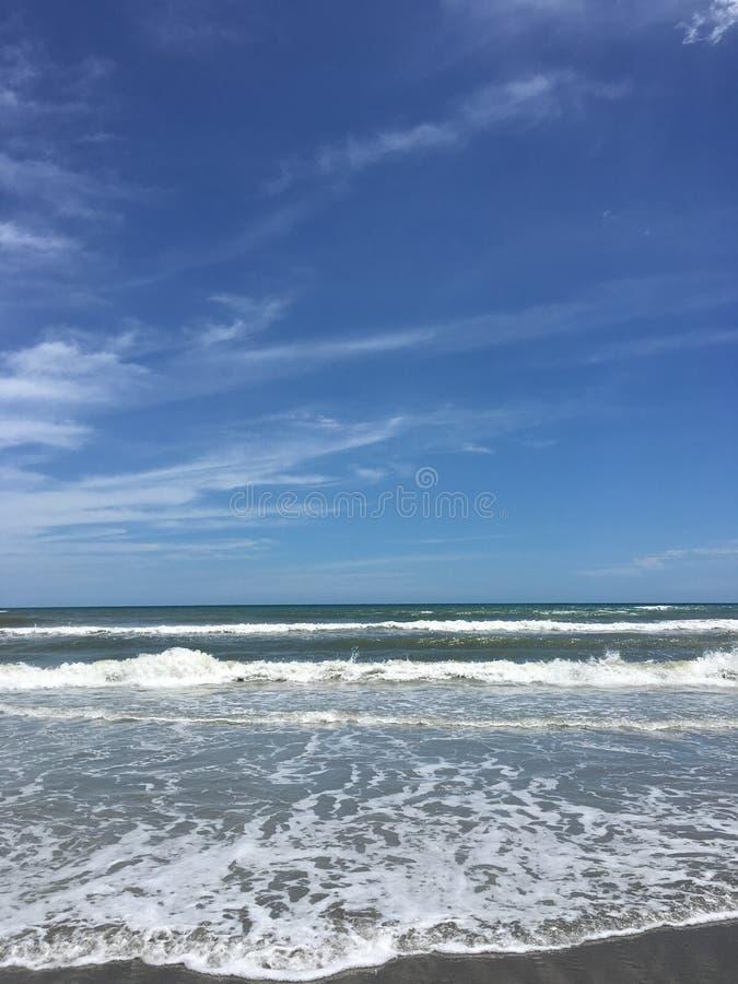 Día en la playa imagen de archivo